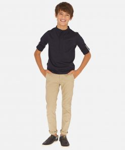 Mayoral Παντελόνι λοξότσεπο μακρύ slim fit βασικό αγόρι 20-00530-015