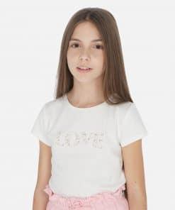 Mayoral Μπλούζα κοντομάνικη Chic κορίτσι 20-00854-086