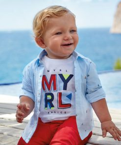 Mayoral Πουκάμισο baby αγόρι 20-01166-037