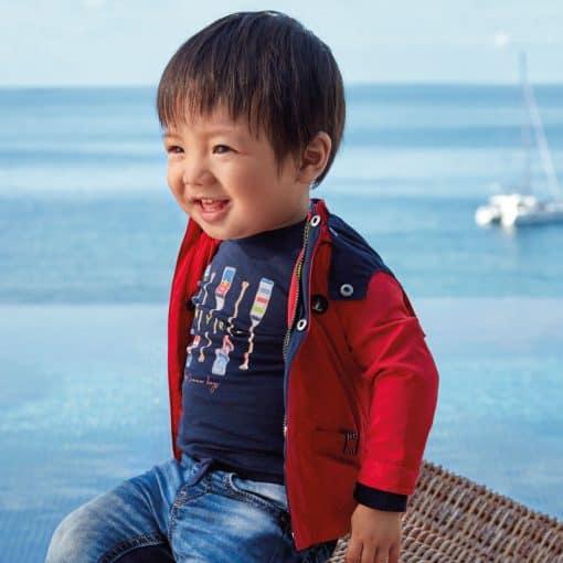 Mayoral Μπουφάν αντιανεμικό ναυτικό baby αγόρι 20-01463-020