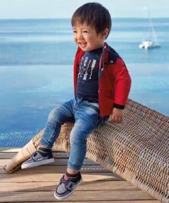 Mayoral Παντελόνι μακρύ τζιν jogger baby αγόρι 20-01551-085
