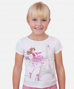 Mayoral Μπλούζα κοντομάνικη κούκλα κορίτσι 20-03008-047