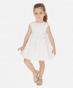 Mayoral Φόρεμα με ζακάρ πουά κορίτσι 20-03911-089