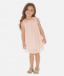 Mayoral Φόρεμα πιέτες λουλούδια κορίτσι 20-03922-091