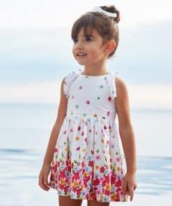 Mayoral Φόρεμα ποπλίνα λουλούδια κορίτσι 20-03951-069