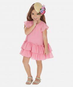 Mayoral Φόρεμα βολάν κορίτσι 20-03957-044