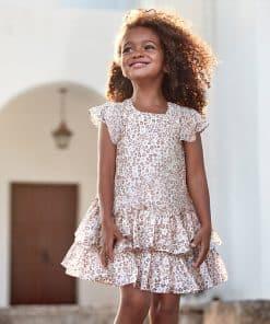 Mayoral Φόρεμα βολάν κορίτσι 20-03957-045