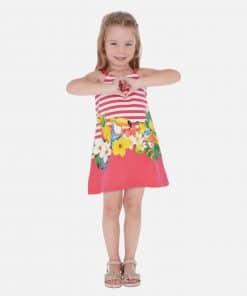 Mayoral Φόρεμα τιράντες σταμπωτό κορίτσι 20-03961-011