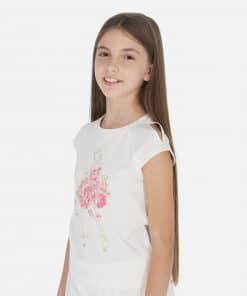 Mayoral Μπλούζα κοντομάνικη κούκλα κορίτσι 20-06007-018