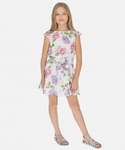 Mayoral Φόρεμα γάζα σταμπωτό κορίτσι 20-06962-068