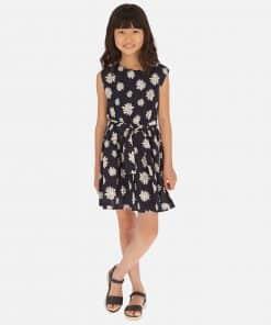 Mayoral Φόρεμα σταμπωτό μαργαρίτες κορίτσι 20-06965-034