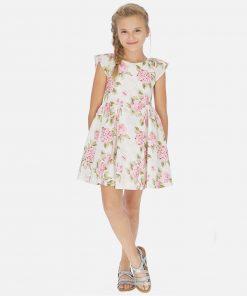 Mayoral Φόρεμα σταμπωτό λουλούδια κορίτσι 20-06967-014