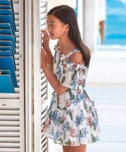 Mayoral Φόρεμα γάζα κορίτσι 20-06974-075