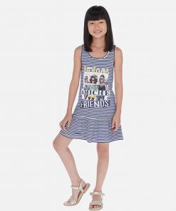 Mayoral Φόρεμα ριγέ κορίτσι 20-06987-092