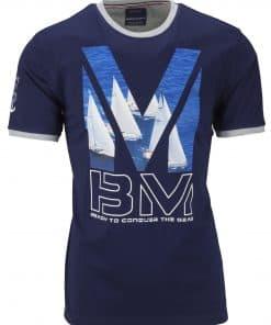 Ανδρικό T-shirt Ιστιοπλοϊκό Τύπωμα Beneto Maretti