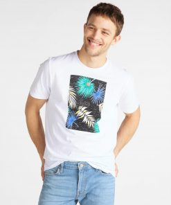 Μπλούζα Lee Botanical print tee L61IFE01