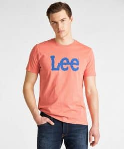Μπλούζα Lee Wobbly Logo Tee L65QFENI