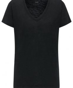 Γυναικεία Μπλούζα Lee V NECK TEE BLACK L41JEN01