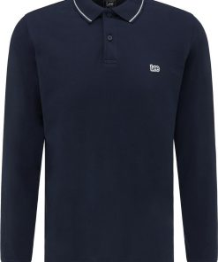 Ανδρική Μπλούζα Lee LS PIQUE POLO NAVY L61VRL35