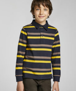 Mayoral Long sleeve striped polo 11-07148-083